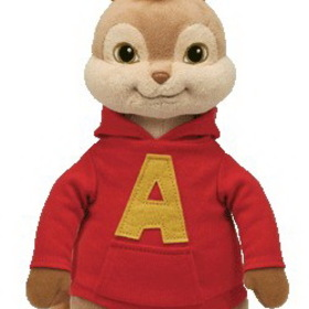 TY Beanie Buddies Alvin- Alvin And The Chipmunks Plush Toys Kids