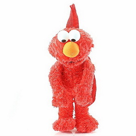Sesame Street Elmo Plush Kids Backpack Buddy