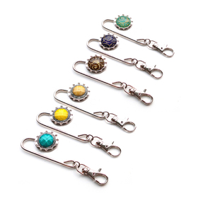 GOGO Hand Bag Purse Hook Hanger, Assorted Colors, Price/6 Pcs