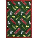 Joy Carpets 1415 Rug, Hook and Ladder