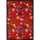 Joy Carpets 1417 Rug, Multi-Sport
