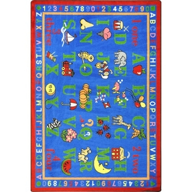 Joy Carpets 1422 Rug, Phonics Fun