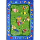 Joy Carpets 1437 Rug, Teddy Bear Playground