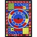 Joy Carpets 1445 Rug, Teach-A-Tot