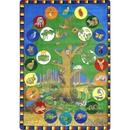 Joy Carpets 1448 Rug, Tree of Life