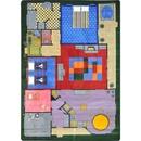 Joy Carpets 1453 Rug, Creative Play House