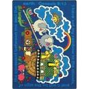 Joy Carpets 1492 Rug, Rainbow's Promise