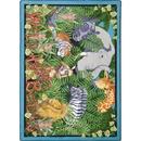 Joy Carpets 1494 Rug, Wild About Books