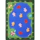 Joy Carpets 1498 Rug, Fishin' Fun