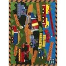 Joy Carpets 1551 Rug, Kid's Building Character