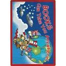 Joy Carpets 1605 Rug, Books Can Take You Anywhere