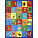 Joy Carpets 1630 Rug, Bilingual Phonics