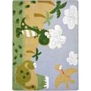 Joy Carpets 1655 Rug, Dino Fun