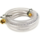 Hose 3/4in 12ft Clear Braided