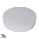 Pad Round 7in Soft White Polish Pad