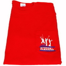 2000L(Red) Red T-Shirt 3 Dudes Large
