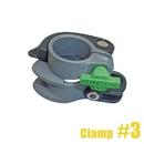 17162 Clamp 3 Complete Nlite Grey