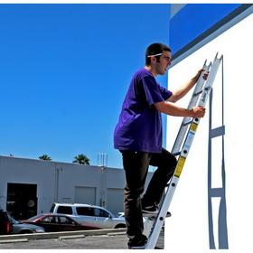 Metallic Ladders WC-6C-P Ladder Center 06ft Metallic