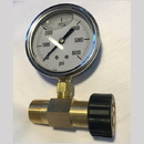 1001.5874 M22 Pressure Gauge 0 to 6000PSI Brass