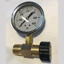 1001.5874 M22 Pressure Gauge 0 to 6000PSI Brass
