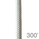 New England Ropes 3250-16-00300 Safety Core Rope 1/2in 300