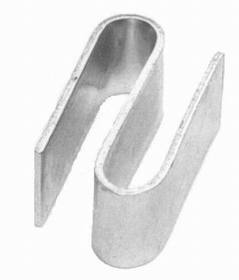 Johnson-Rose 11299 S Style Hook, 2-Pack, Chrome, 612941112997, Price/PK