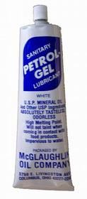 "Johnson-Rose 6099 Sanitary Lubricant ""Petrol-Gel"", 4 Oz., Uses: 6100, 6101, 6102 & Other Equipment, Odorless, Tasteless, Fda, 612148060992, Price/EA"