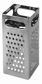 "Johnson-Rose 7349 All-Purpose Grater, 9"" X 4"" X 4"", Four Different Cutting Edges, Stainless Steel, 612941073496, Price/EA"