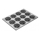 (3 Pcs @ $58.03 Pcs) Focus Foodservice 904555 Large Crown Muffin Pans