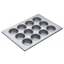 (3 Pcs @ $61.35 Pcs) Focus Foodservice 905645 Large Muffin Pans