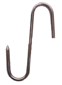 "Johnson-Rose 9110 Meat Hook, 4"", 4 Mm Gauge, Stainless Steel, 612941091100, Price/EA"