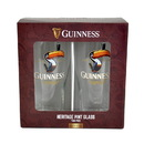 Guinness Official Merchandise GNS2639 Guinness Toucan 20oz Pint Glass 2Pack