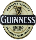 Guinness Official Merchandise GNS5017 Guinness Resin Magnet Label