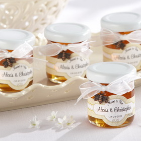 "Kate Aspen ""Meant to Bee"" Personalized Clover Honey (Set of 12) , Price/SET"