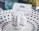 Kate Aspen 29043NA Nautical Cotton Rope Place Card Holder