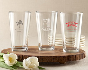 Kate Aspen Personalized Pint Glass 16 oz.