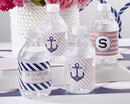 Kate Aspen 31301NA Personalized Water Bottle Labels - Kate's Nautical Bridal Collection