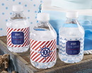 Kate Aspen 31303NA Personalized Water Bottle Labels - Kate's Nautical Birthday Collection