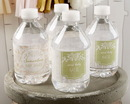 Kate Aspen 31306NA Personalized Water Bottle Labels - Kate's Rustic Baby Shower Collection