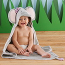 Baby Aspen BA14031NA Splish Splash Elephant Bath Spa Hooded Towel