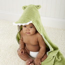 Baby Aspen BA14034NA Splash-a-while Crocodile Hooded Spa-Towel
