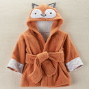 Baby Aspen BA14035NA Rub-a-dub, Fox in the Tub Hooded Spa Robe