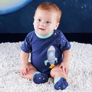 Baby Aspen BA14058BL Cosmo Tot Spaceship 2-Piece Layette Set