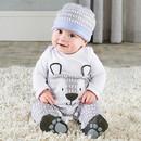 Baby Aspen Trendy Baby Bear 2-Piece Pajama Gift Set
