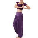 GOGO TEAM Women's Yoga Pants Costume Belly Dance Costume Yogawear Gym Outfit
