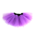 GOGO TEAM Girl's Petti Tutu Skirt Ballet Dance Skirt, Fairy Girls Costume