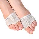 TopTie Women's footundeez Lyrical Dance Modern Shoe Half Sole Yoga Socks