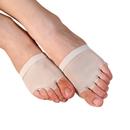 TopTie Women's footundeez Lyrical Modern Shoe Half Sole Yoga Socks Foot Thong