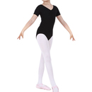 TopTie Girls Team Basic Short Sleeve Leotard Ballet Gymnastics Leotard