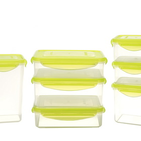 Kinetic Fresh Food Storage Containers, 7pc Set (14pcs)